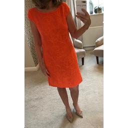 Deck Grace Dress - Orange