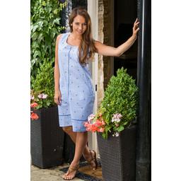 Alice Collins Harriet Dress - Blue Anchor