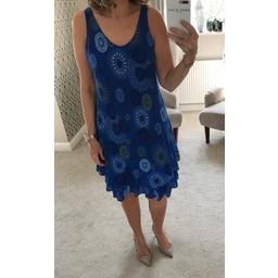 Lucy Cobb Billi Dress - Royal