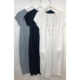 Lucy Cobb Taylor T Shirt Dress - Black