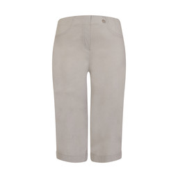Robell Trousers Bella 05 Shorts - Silver Grey
