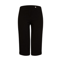 Robell Trousers Bella 05 Bermuda Shorts in Black