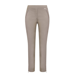 Robell Nena 09 Trousers in Light Taupe