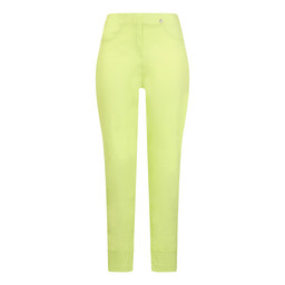 Robell Bella 09 Trousers in Lime Green