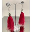 Tassel Earrings - Pink