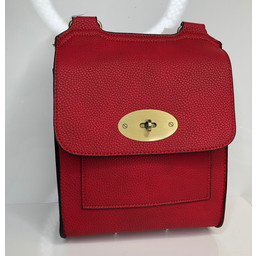 Lucy Cobb Crossbody Bag in Red