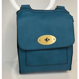 Lucy Cobb Crossbody Bag - Turquoise