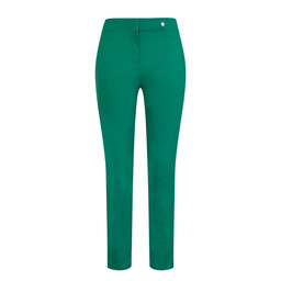 Robell Trousers Rose 09 Trousers - Golf Green
