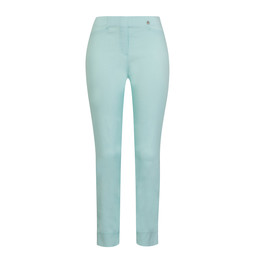 Robell Trousers Rose 09 Trousers in Aqua Turquoise