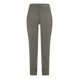 Robell Bella 09 Trousers in Ivy Green