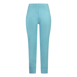 Robell Trousers Bella 09 7/8 Trousers in Aqua Turquoise