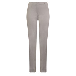 Robell Trousers Marie Denim Jeans in Grey
