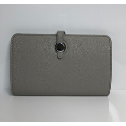Lucy Cobb Travel Wallet with Purse in Light Grey