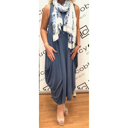 Lucy Cobb Tara Sleeveless Panel Dress - Denim