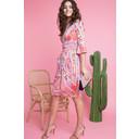 Tammy Dress - Coral - Alternative 1