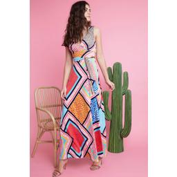 Onjenu Fifi Maxi Dress - Formentera Turquoise