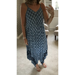 Lucy Cobb Molly Handkerchief Dress - Denim