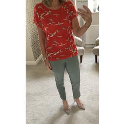 Fransa Nibird T-shirt - Red