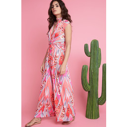 Onjenu Leia Long Jumpsuit - Gianto Coral