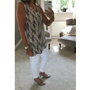 Luna Jersey Tunic - Beige
