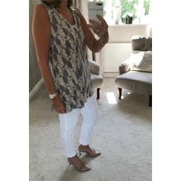 White Stuff Luna Jersey Tunic - Beige
