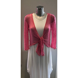 Lucy Cobb Shrug  in Dusky Pink