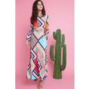 Yana Maxi Dress - Formentera Turquoise