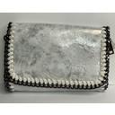 Chain Crossbody Bag  - Silver