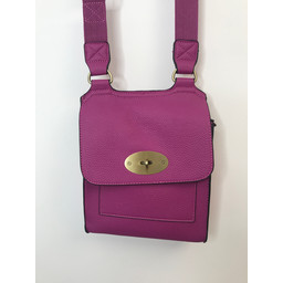 Lucy Cobb Crossbody Bag - Fuchsia