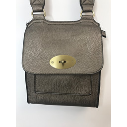 Lucy Cobb Crossbody Bag in Mid Grey