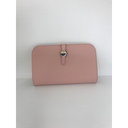 Lucy Cobb Travel Wallet with Purse in Blush Pink
