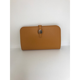 Lucy Cobb Travel Wallet with Purse in Mustard