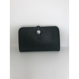 Lucy Cobb Travel Wallet with Purse in Dark Green
