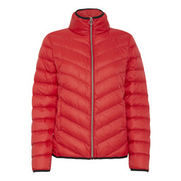 Fransa Padown Outerwear Jacket in Red