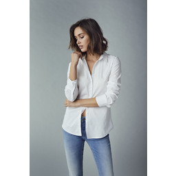 Fransa Zashirt Shirt  - White