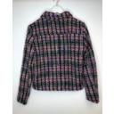Multi Tweed Button Front Blazer  - Multicoloured - Alternative 2