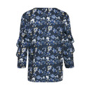 Piflounce Blouse  - Blue - Alternative 1
