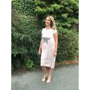 Taylor T Shirt Dress - Blush Star