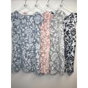Ivy Printed Linen Dress - Grey - Alternative 1