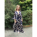 Isabella Maxi Dress - Navy Star - Alternative 1