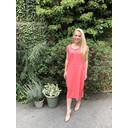 Taylor T Shirt Dress - Coral