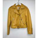 Yellow Pu Biker Jacket - Yellow - Alternative 2