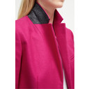 Platform Felt Smart Coat - Fuchsia - Alternative 3