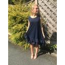 Elle Frill Dress - Navy - Alternative 1
