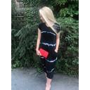 Taylor T Shirt Dress - Black Tie Dye