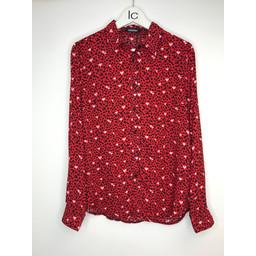 Lucy Cobb Hallie Heart Shirt in Red