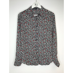 Lucy Cobb Hallie Heart Shirt in Black