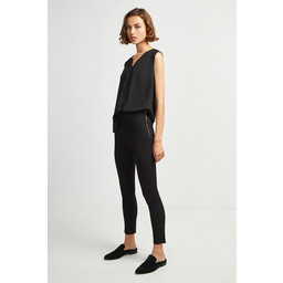 French Connection Kara Twill Skinny Trousers - Black