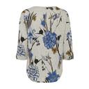 Piflower T-shirt  - Grey Floral - Alternative 1