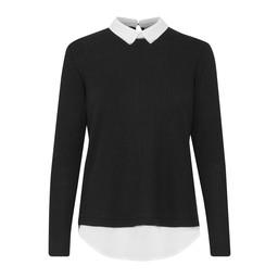 Fransa Pirex T-shirt in Black
